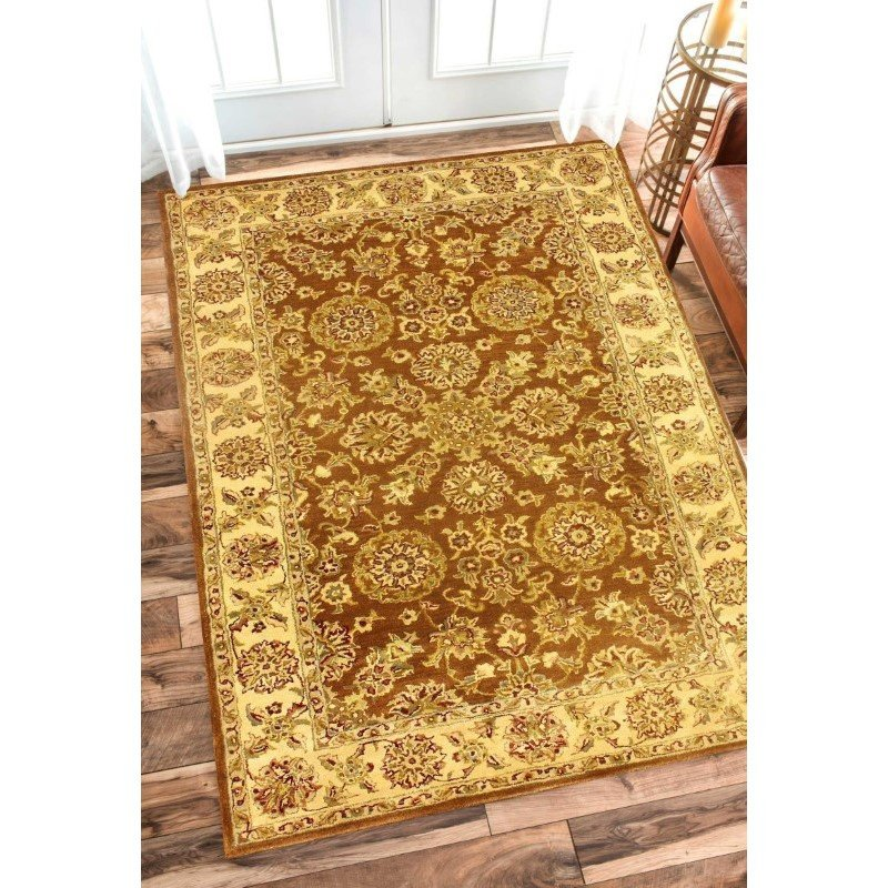 nuLOOM Hand Tufted Mirage Area Rug 9' x 12' Brown Rectangle (ESLE1F-9012)