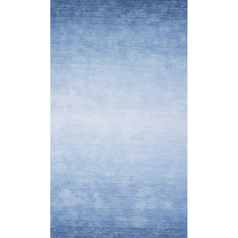 nuLOOM Hand Tufted Ombre Bernetta Rug 4' x 6' Blue Rectangle (AWVE18B-406)