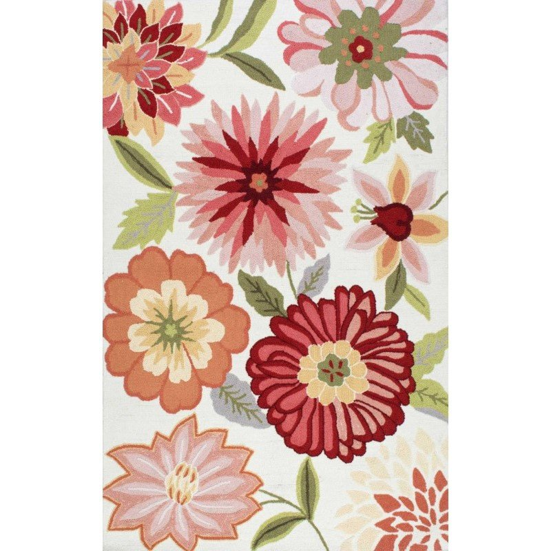 nuLOOM Hand Tufted Palm Springs Rug 5' x 8' Pink Rectangle (HJUZB38A-508)