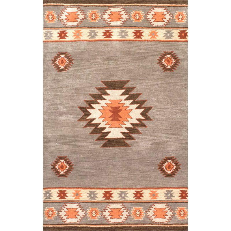 nuLOOM Hand Tufted Shyla 3' x 5' Rectangle Rug in Grey (SPVE04A-305)