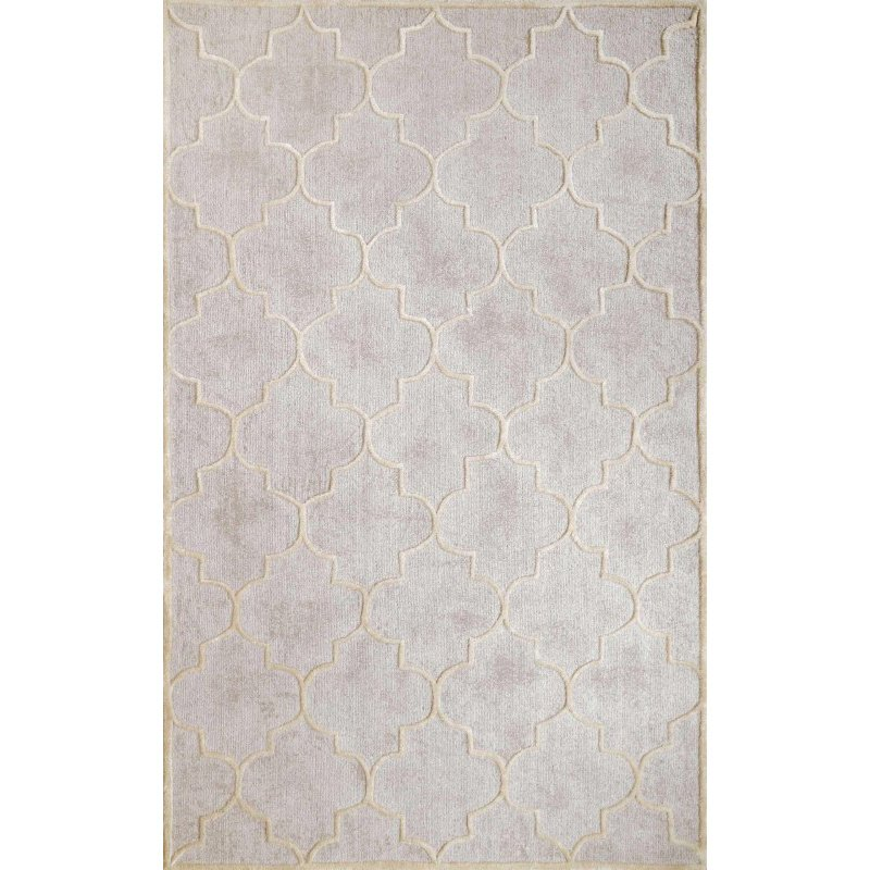 nuLOOM Hand Tufted Spradlin Rug 4' x 6' Silver Rectangle (AKMA6A-406)