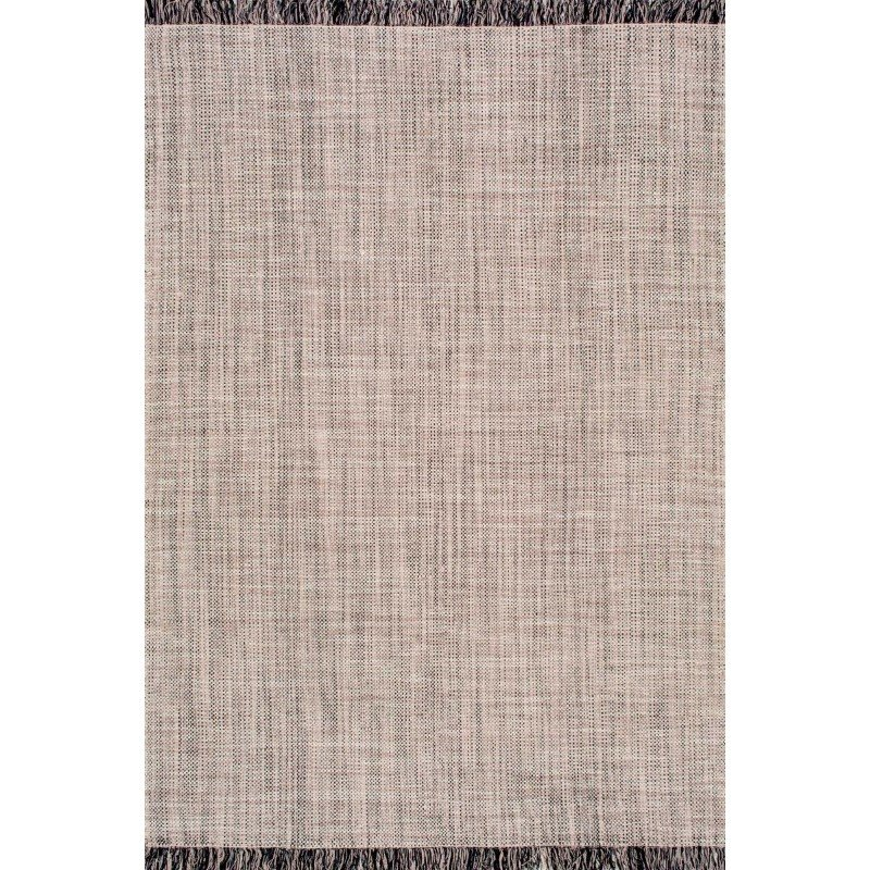 "nuLOOM Hand Woven Cherelle Rug 7' 6"" x 9' 6"" Beige Rectangle (ANMY01A-76096)"