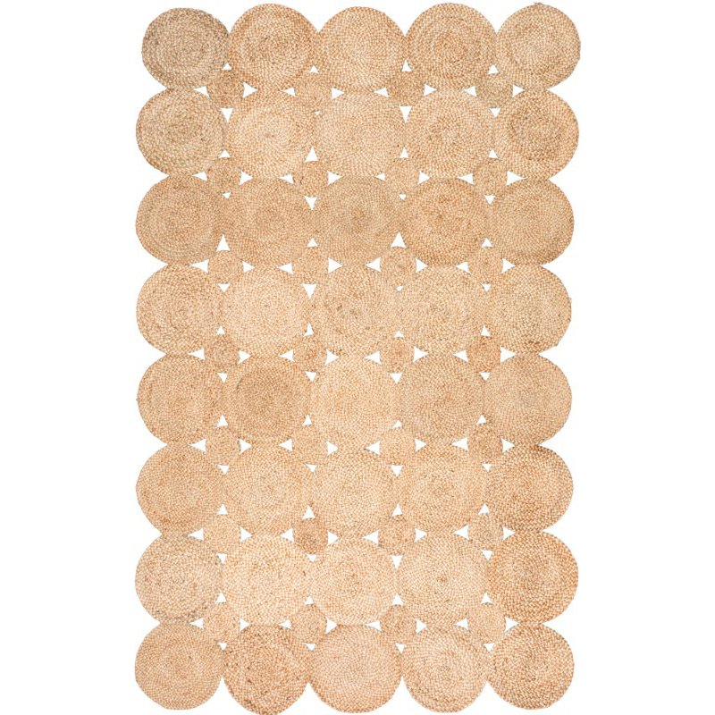 nuLOOM Hand Woven Drusilla 6' x 9' Rectangle Rug in Natural (TAJT06A-609)