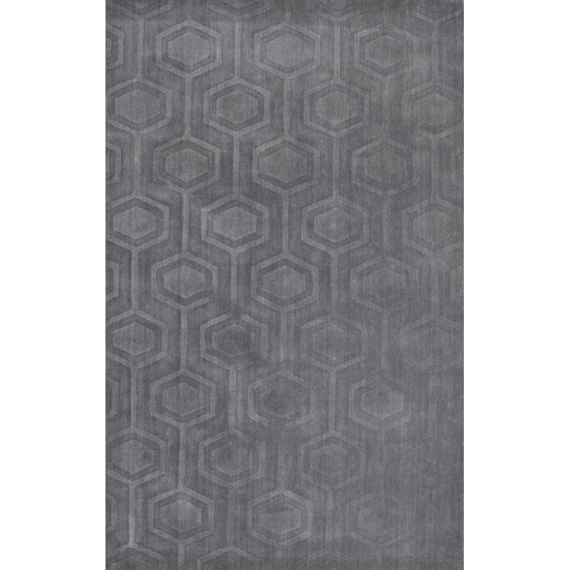 nuLOOM Hand Woven Lundberg 6' x 9' Rectangle Rug in Grey (RUCS03A-609)