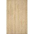 nuLOOM Hand Woven Rigo Jute 6' Square Rug in Natural (TAJT03-606S)