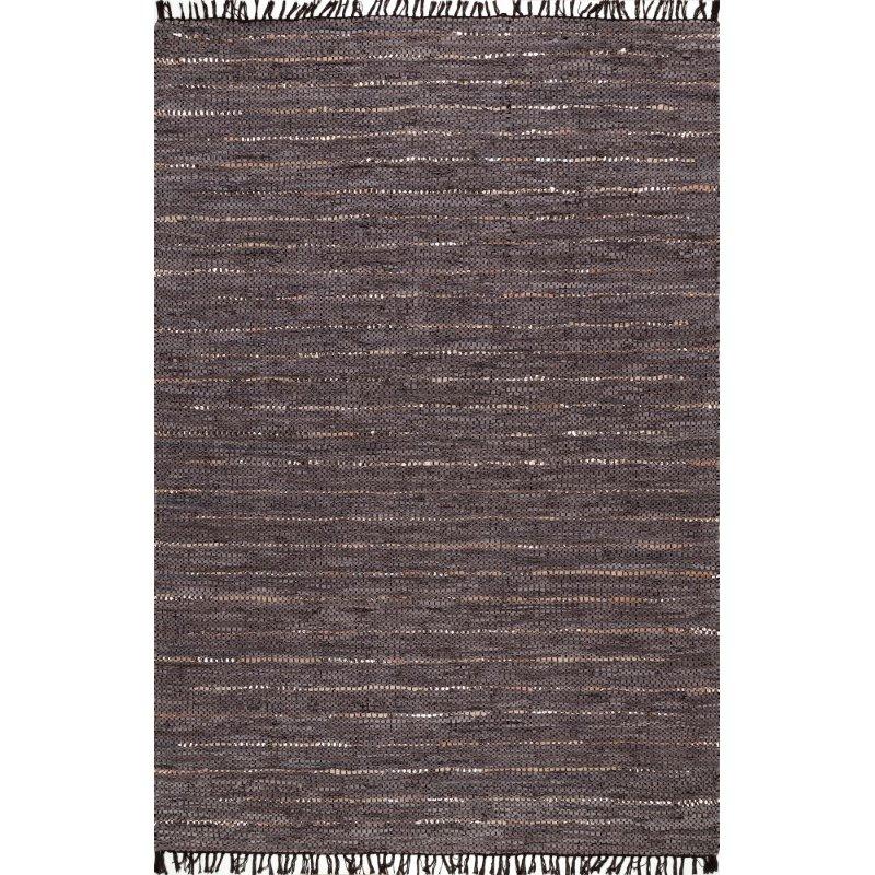 nuLOOM Handmade Lori 5' x 8' Rectangle Rug in Brown (TXER01A-508)
