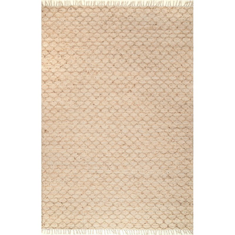 "nuLOOM Handmade Natural Ali 7' 6"" x 9' 6"" Rectangle Rug in Natural (TXKH01A-76096)"