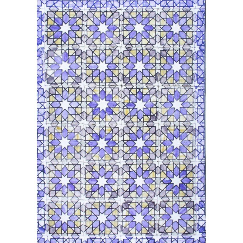 """nuLOOM Louanne Tiles Rug 8' 2"""" x 10' 11"""" Purple Rectangle (DICH01A-82011)"""