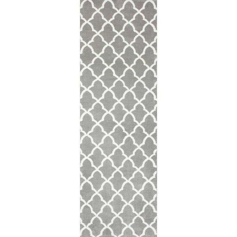 nuLOOM Machine Made Gustav Faux Rug 3' x 6' Grey Rectangle (BIBL05A-306)