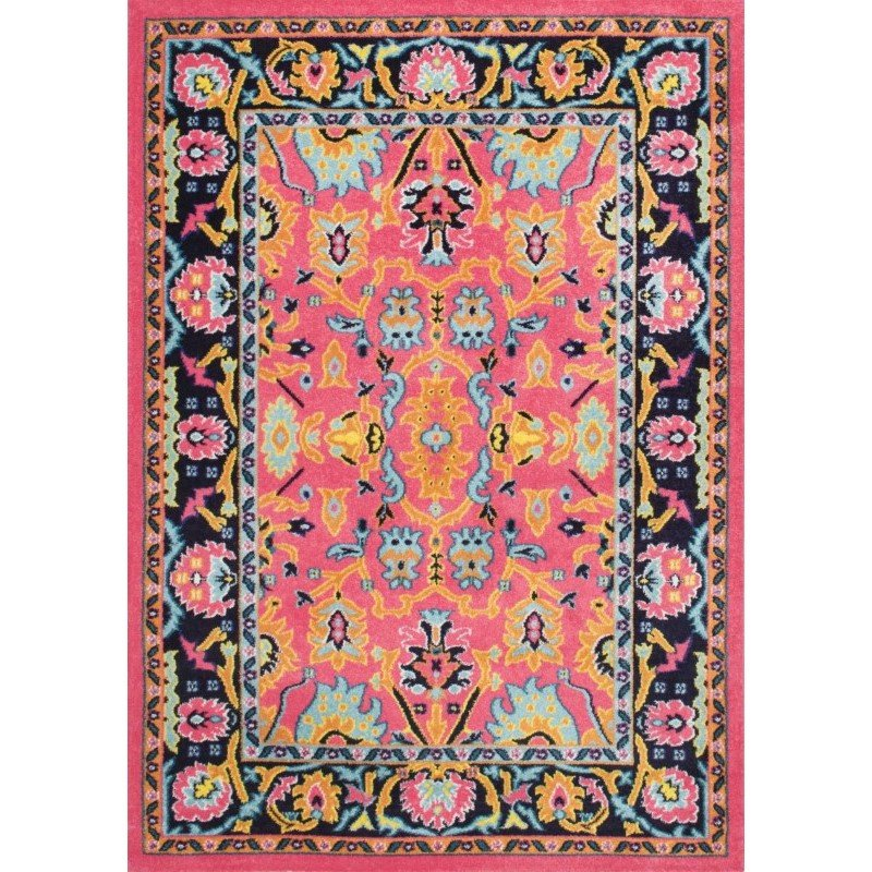 nuLOOM Machine Made Sherly Rug 5' x 8' Pink Rectangle (ECCR11A-508)