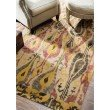 """nuLOOM Machine Woven Paisley Jute Rug 2' 6"""" x 8' Natural Runner (NCNT16A-2608)"""