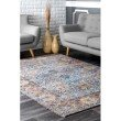 nuLOOM Maggie Flatweave 5' x 8' Rectangle Rug in Blue (SVIN04A-508)
