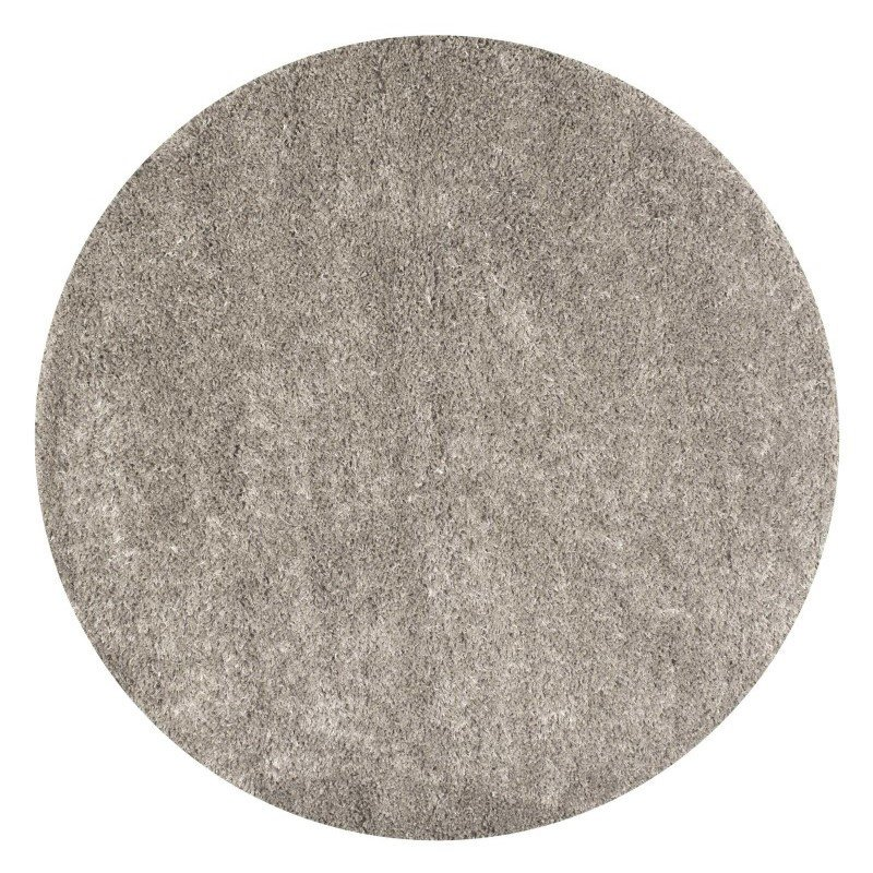 """nuLOOM Millicent Shaggy Rug 5' 3"""" Taupe Round (GCMS01C-53053R)"""
