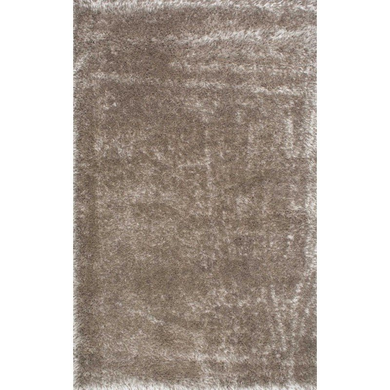 """nuLOOM Millicent Shaggy Rug 5' 3"""" x 7' 7"""" Taupe Rectangle (GCMS01C-53077)"""