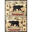 "nuLOOM Monnie Bears Lodge Rug 7' 6"" x 9' 6"" Multi Rectangle (BDYS01A-76096)"