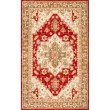 nuLOOM Persian Medallion Fleta Rug 5' x 8' Red Rectangle (HJFT03A-508)
