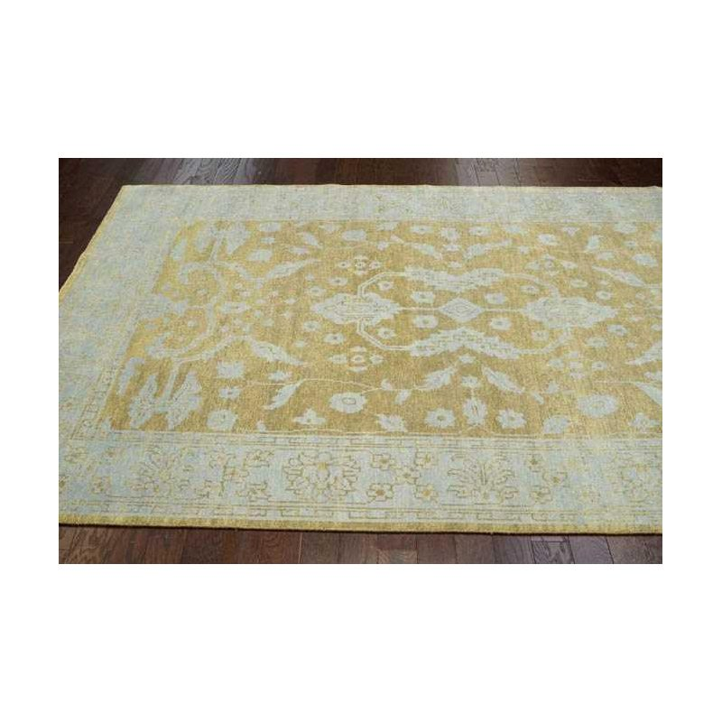 nuLOOM Reina Peshawar Style Hand-Knotted Rug 5' x 8' Gold Rectangle (PCOV13A-508)