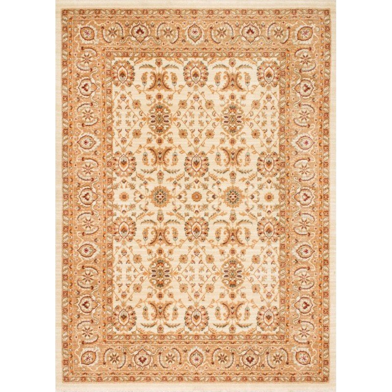 nuLOOM Rodolfo Floral Persian Rug 5' x 8' Ivory Rectangle (ECES02A-5077)