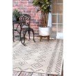 """nuLOOM Serna Outdoor 7' 6"""" Square Rug in Ivory (OWDN23A-S76076)"""
