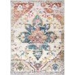 nuLOOM Terrell Floral Medallion 5' x 8' Rectangle Rug in Ivory (YKNV07B-508)