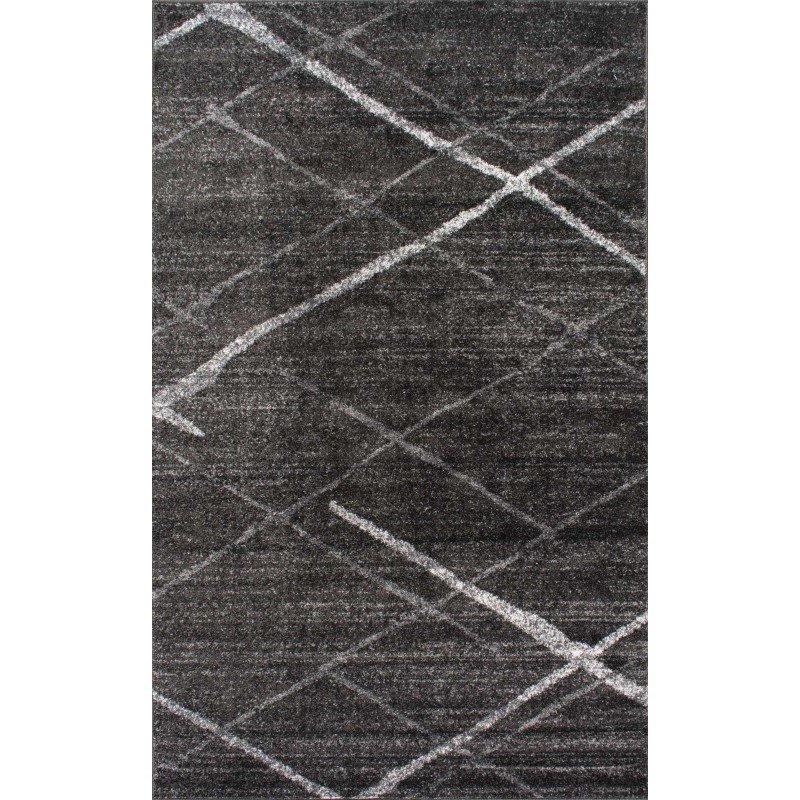 nuLOOM Thigpen Rug 4' x 6' Dark Grey Rectangle (BDSM04B-406)