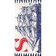 nuLOOM Thomas Paul Flatweave Sailing Ship Tassel 3' x 5' Rectangle Rug in Navy (TATP13A-305)