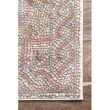 """nuLOOM Traditional Joanna 8' x 10' 3"""" Rectangle Rug in Ivory (PSTA01B-80103)"""