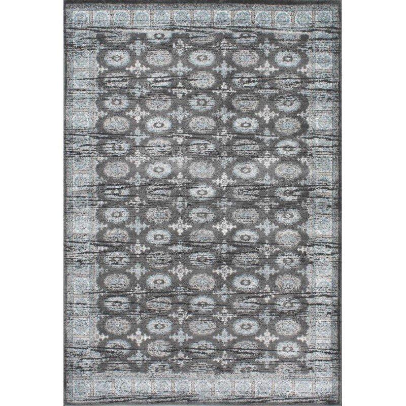 nuLOOM Vintage Almanza Rug 5' x 8' Grey Rectangle (GMSM01B-508)