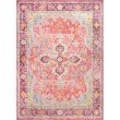 nuLOOM Vintage Anneliese 8' x 10' Rectangle Rug in Pink (PSJE02A-8010)
