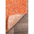 """nuLOOM Vintage Gwyneth Serapi 7' 6"""" x 9' 6"""" Rectangle Rug in Orange (RDFB01C-76096)"""