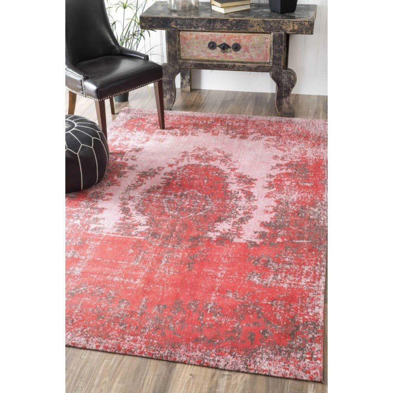 nuLOOM Vintage Shanell Rug 8' x 10' Red Rectangle (RCTB02B-8010)