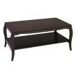 Office Star Products Coffee Table in Espresso Veneer