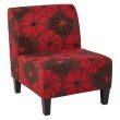 Office Star Products Magnolia Chair in Red