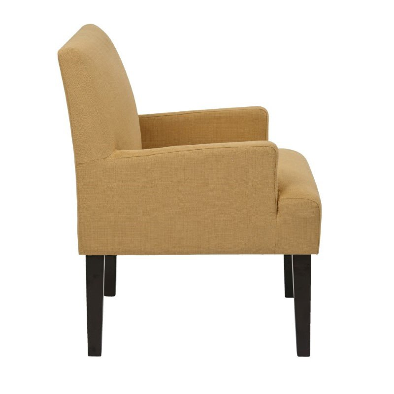 Office Star Products Main Street Guest Chair in Wheat