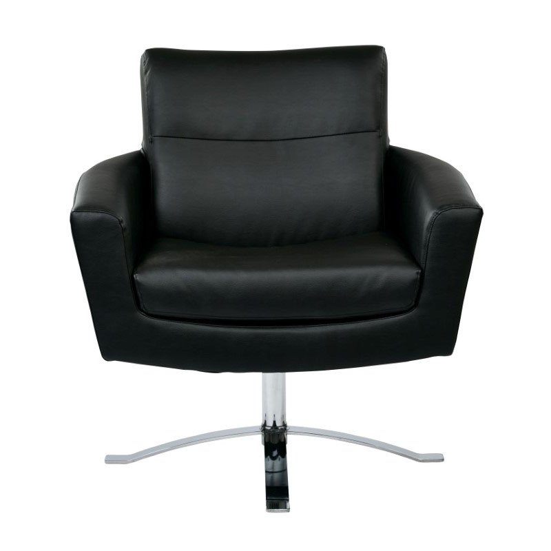 Office Star Products Nova Chair in Black