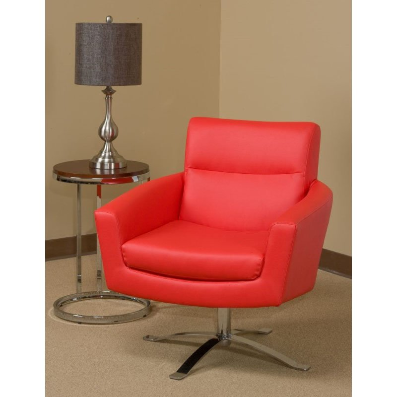 Office Star Products Nova Chair in Red