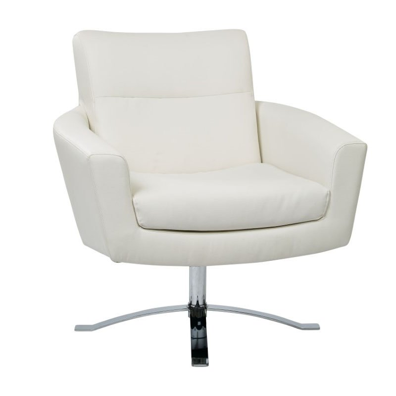 Office Star Products Nova Chair in White