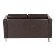 Office Star Products Pacific LoveSeat in Espresso