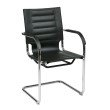 Office Star Products Trinidad Guest Chair in Black