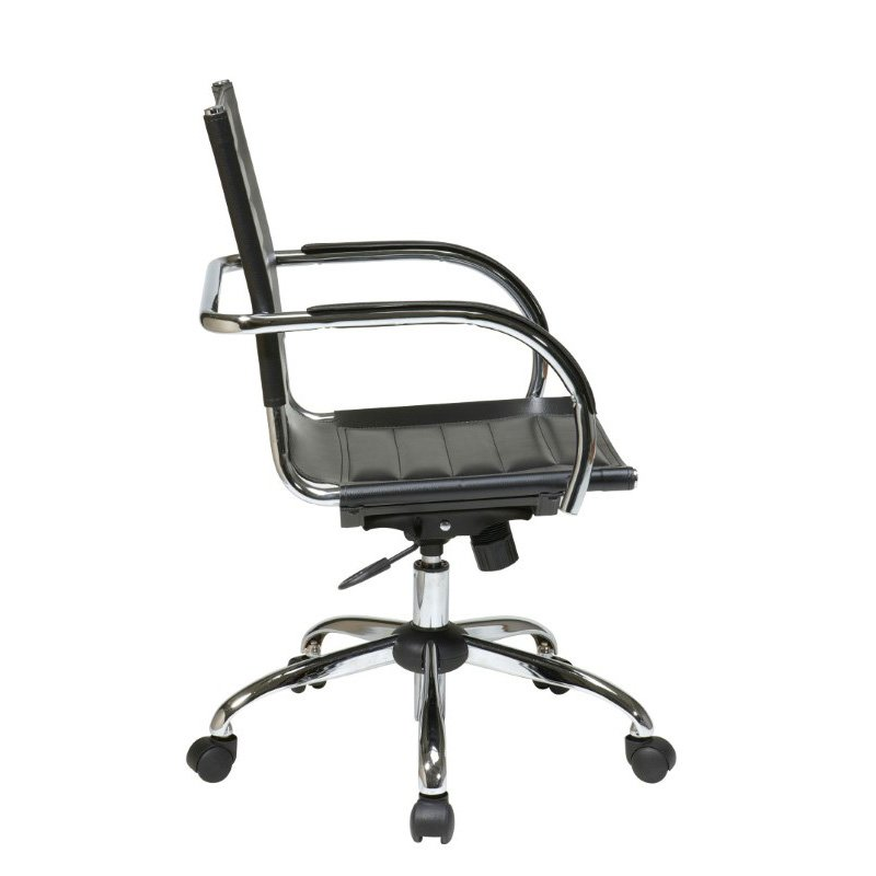 Office Star Products Trinidad Office Chair in Black