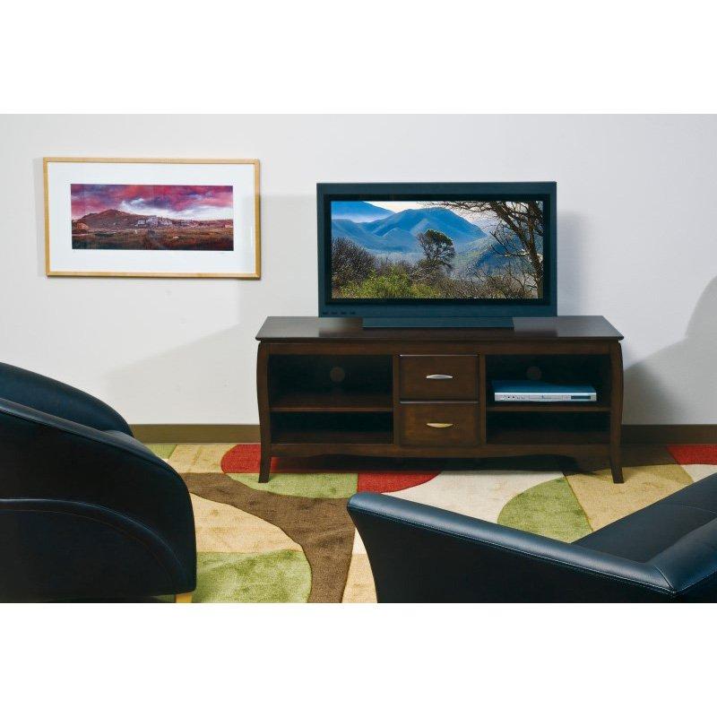 "OSP Designs 60"" TV Stand in Walnut"