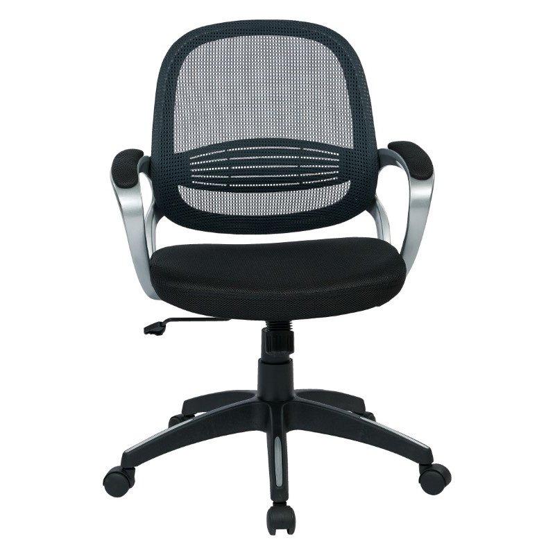 OSP Designs Bridgeport office Chair in Grey