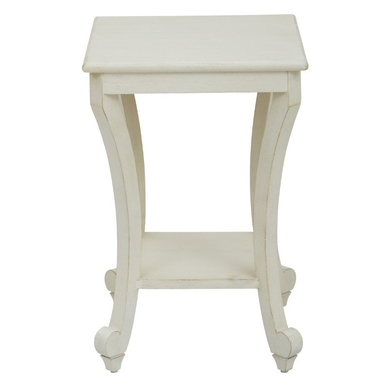 OSP Designs Daren Accent Table in Country Cottage Finish