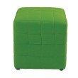 "OSP Designs Detour 15"" Green Fabric Cube"