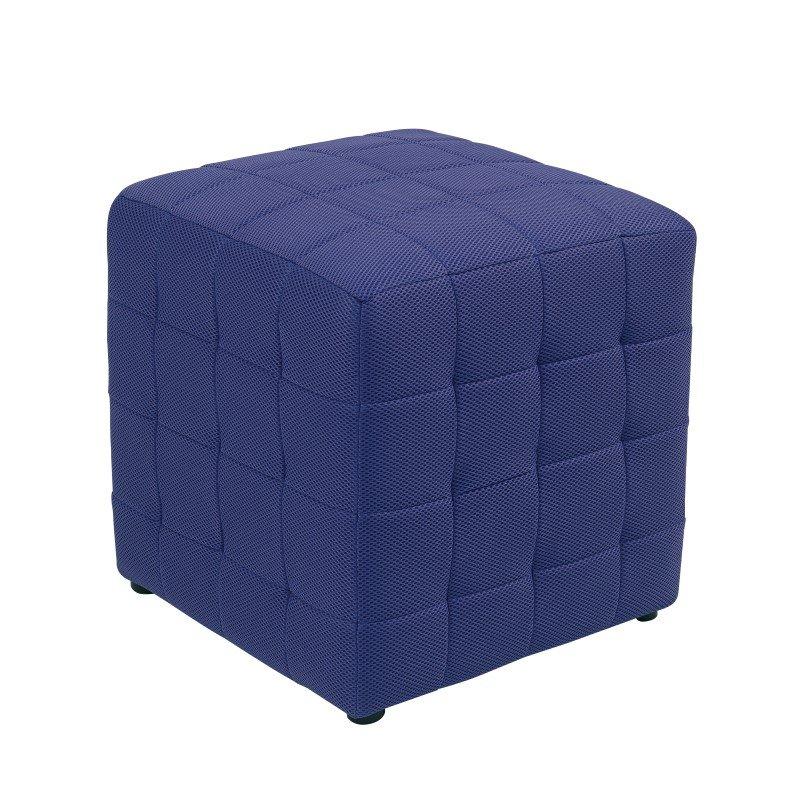 """OSP Designs Detour 15"""" Purple Fabric Cube"""