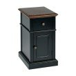 OSP Designs Oxford Two Tone Side Table