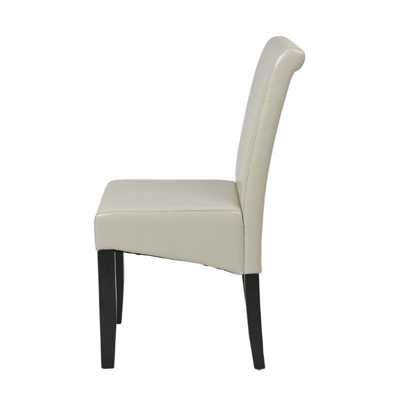 OSP Designs Parsons Chair in Cream