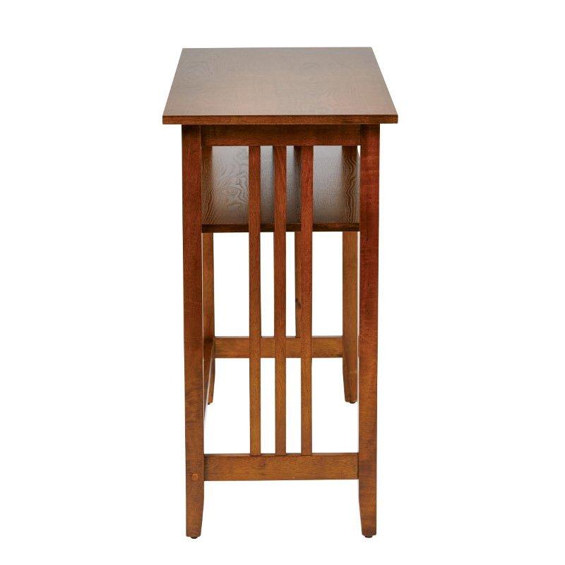 "OSP Designs Sierra 36"" Foyer Table in Ash Finish"