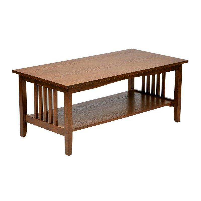 OSP Designs Sierra Coffee Table in Ash Finish
