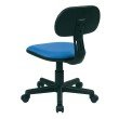 OSP Designs Student Task Chair in Blue Fabric
